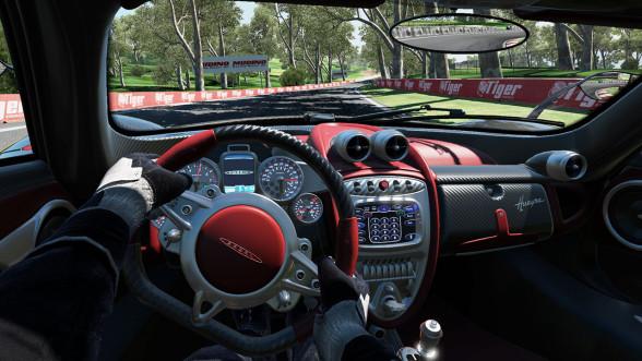 Project CARS - Pagani Huayra-wnetrze