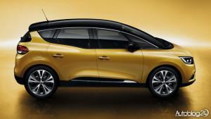 Renault Scenic 4 generacja - bok
