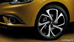 Renault Scenic 4 generacja - felga 20 cali