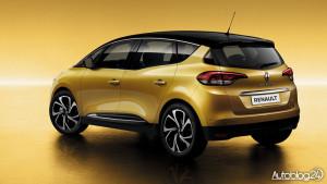 Renault Scenic 4 generacja - tył