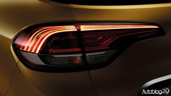 Renault Scenic 4 generacja - tylne światła