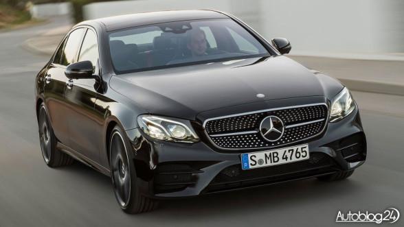 Sportowy Mercedes Klasy E