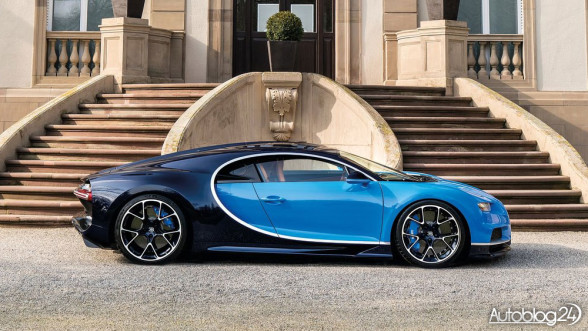 Supersamochód Bugatti