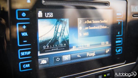 Toyota Auris - ekran LCD