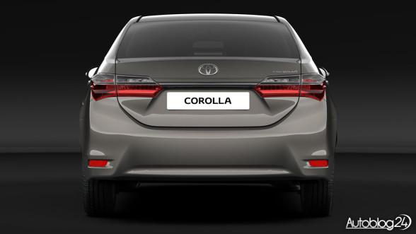 Toyota Corolla - facelifting 2016 - tył