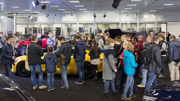 Warsaw Moto Show - samochody Mercedes