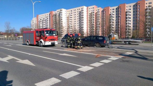 Wypadek - aleja KEN w Warszawie
