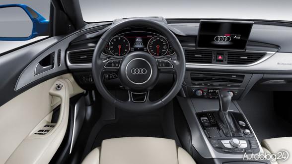 Audi A6 2016 - wnętrze