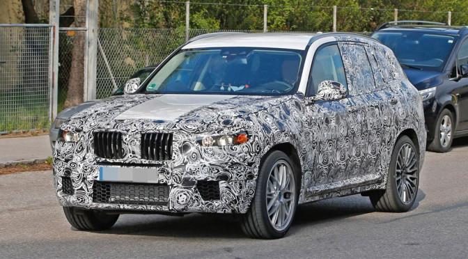 BMW X3 G01 (2017) – informacje, wnętrze i zdjęcia szpiegowskie nadwozia nowej generacji niemieckiego SUV'a