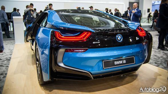 BMW i8 - Poznań