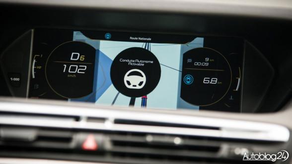 Citroen C4 Picasso - autopilot