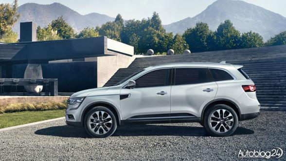 Nowa generacja Renault Koleos 2017 - bok