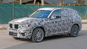 Nowe BMW X3 G01 - bok