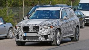 Nowe BMW X3 G01 - przód