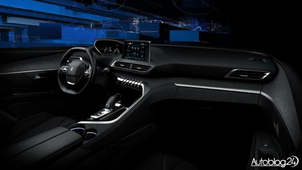 Nowy Peugeot 3008 (2016) - wnętrze