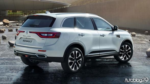 Nowy Renault Koleos 2017 - tył
