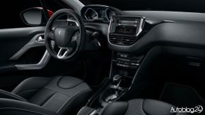 Peugeot 2008 FL - wnętrze