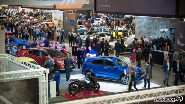 Poznań Motor Show 2016 - zwiedzający