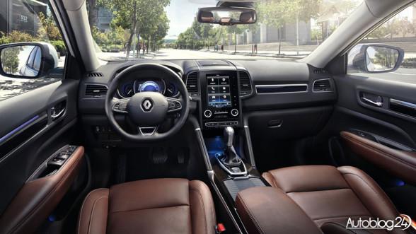 Renault Koleos 2017 - wnętrze