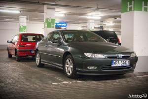 Spot Peugeot Warszawa - 406 Coupe