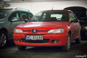 Spot Peugeot Warszawa - 306