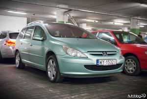 Spot Peugeot Warszawa - 307 kombi