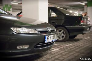 Spot Peugeot Warszawa - 406 coupe i 405