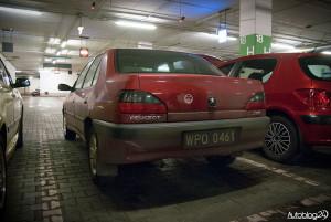 Spot Peugeot Warszawa - 306 sedan
