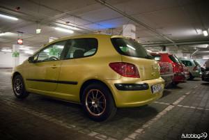 Spot Peugeot Warszawa - 307