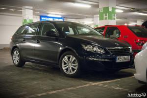 Spot Peugeot Warszawa - 308 SW