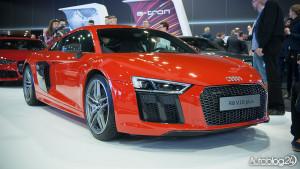 Targi motoryzacyjne - Audi R8 - przód