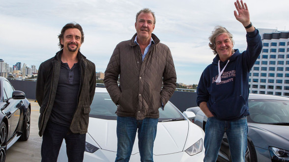 Twórcy DriveTribe - Clarkson, Hammond, May