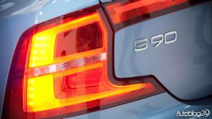 Volvo S90 - lampy