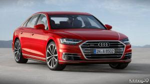 Audi A8 2018 - przód