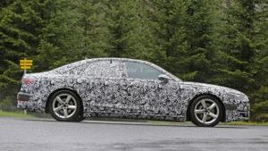 Audi A8 D5 (2017) - bok