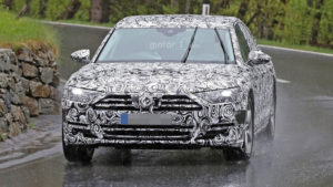 Audi A8 D5 (2017) - przód