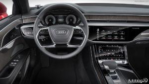 Audi A8 D5 - wnętrze