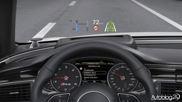 Audi RS6 - Head-Up Display