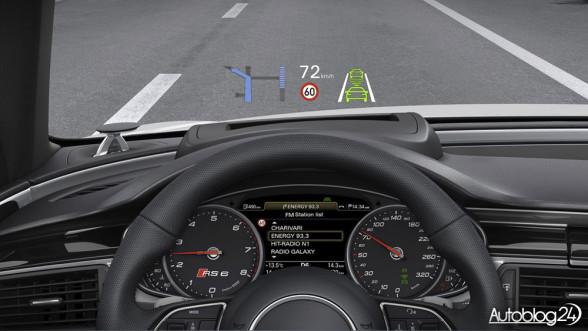Audi RS6 - Head-Up Display
