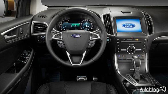 Ford Edge 2016 - wnętrze