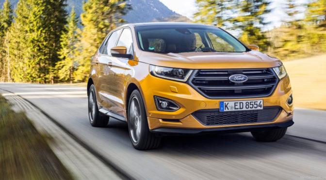 Ford Edge (2016) – cena, silniki, opinie o nowym, amerykańskim SUV'ie w europejskim wydaniu