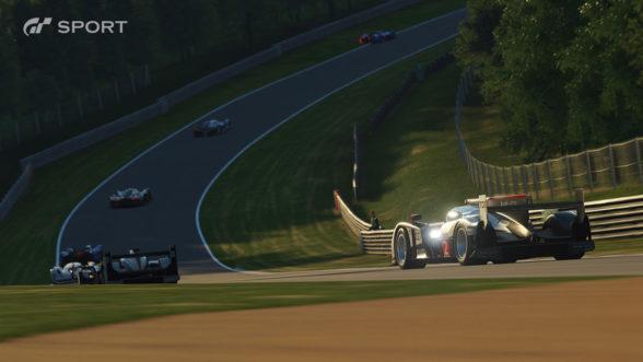 GT Sport - wyścig