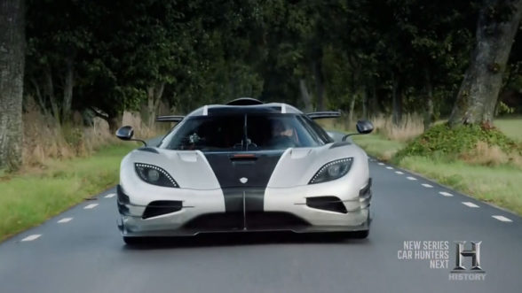 Koenigsegg One 1 - Top Gear