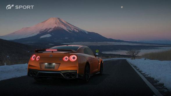 Nissan GT-R w Gran Turismo Sport