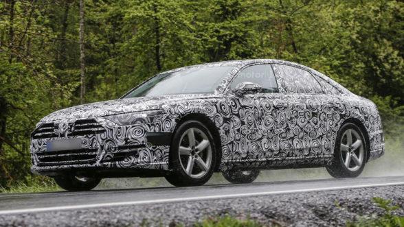Nowa generacja Audi A8 - 2017