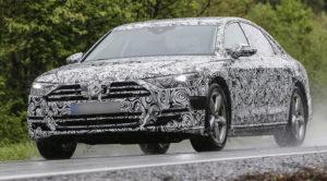 Nowe Audi A8 D5 (2017) – pierwsze zdjęcia w maskowaniu zdradzają, że nadchodzą duże zmiany