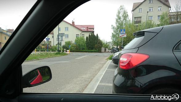 Parkowanie prostopadłe