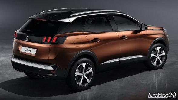 Peugeot 3008 (2016) - tył