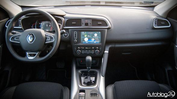 Renault Kadjar - środek