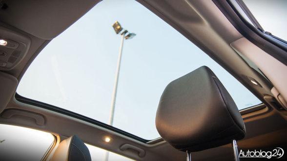 Renault Kadjar - szklany dach